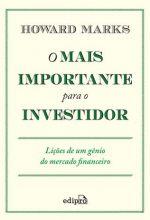O mais importante para o investidor – Howard Marks [Marks, Howard]
